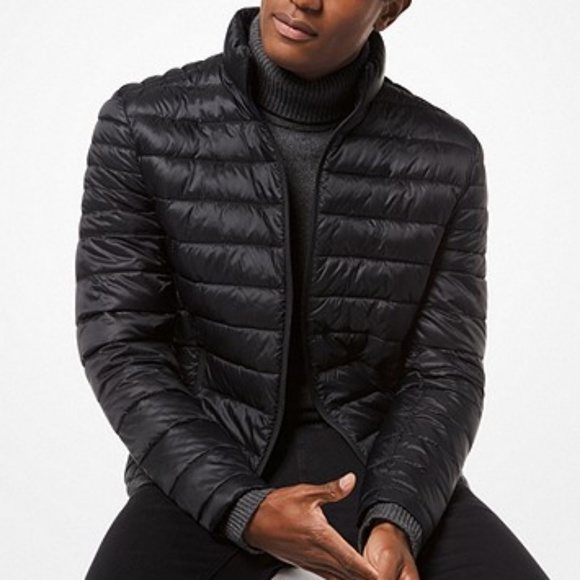4eca66fee Michael Kors Mens Quilted Nylon Pack Down Jacket NWT